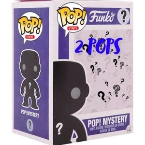 Funko pop mystery box with 2 pops
